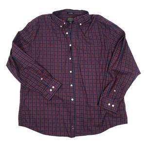 Pendleton Men's plaid button down shirt sz XXl